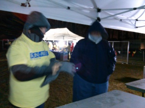 Volunteers at Too Cold To Hold Race